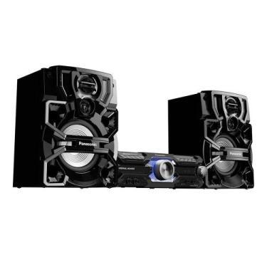 Mini System Panasonic 1800w Usb Mp3 Bluetooth Sc-akx730lbk