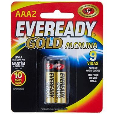 Pilha Eveready Alcalina, Energizer, Dourado