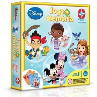 Imagem de Jogo Da Memoria Disney Junior - Estrela