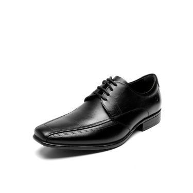 Sapato Social Couro Democrata Jazz Flex Preto Democrata 434021-001 masculino