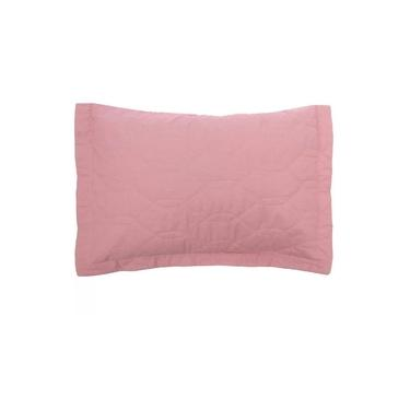 Imagem de Porta Travesseiro Avulso Karsten 100% Algodão Liss Rosa