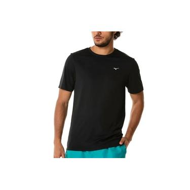Camiseta Mizuno Masculina Run Spark 2 Preta