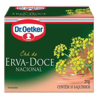 Chá de Erva Doce Dr. Oetker 10 Sachês Dr. Oetker