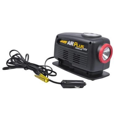 Compressor Para Acendedor De Carros Com Lanterna Air Plus 12V Schulz