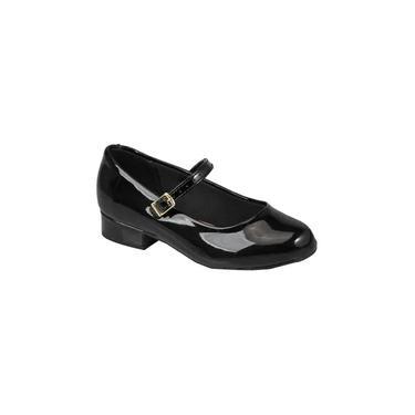 Sapato Social Infantil Fashion Molekinha Preto 2528101