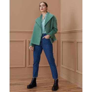 calça jeans slim essential