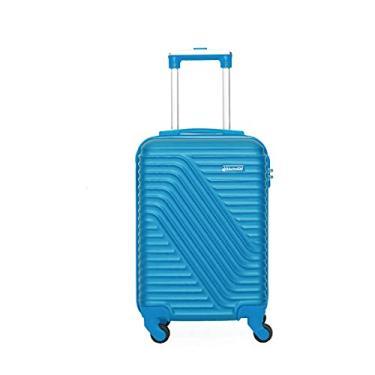 Imagem de Mala Viagem Bordo 8kg 360 Graus Rigida Mundi 1819 Azul