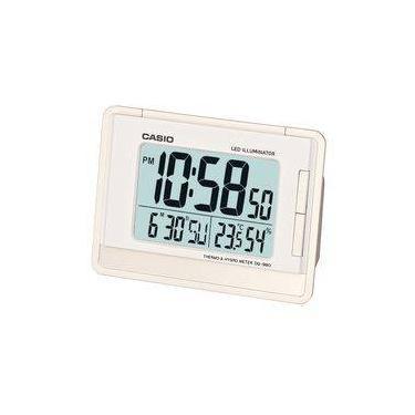 c3882bc7e8a Relógio Despertador Digital Casio C  Calendário E Termômetro Dq-980-7df