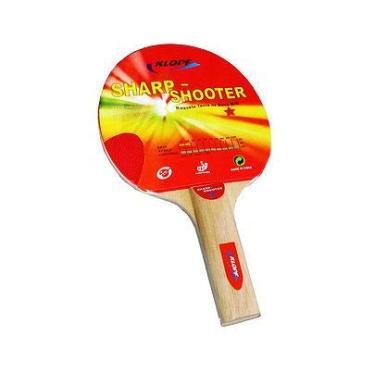 b2f180806 Raquete Klopf Tênis de Mesa Sharp-Shooter Ping Pong