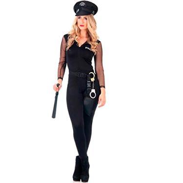 Imagem de Fantasia de Policial Feminina Adulto Heat Girls P 38-40