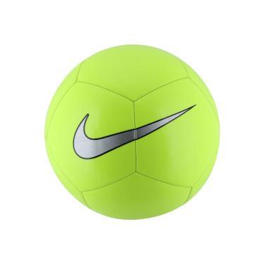 4f657541e8 Bola de Futebol de Campo Nike Pitch Training - VERDE CLARO PRETO Nike