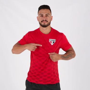 Camiseta São Paulo Hexagonal - P