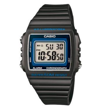 daee347b47d Relógio Casio Masculino Cinza Escuro Digital W-215H-8AVDF