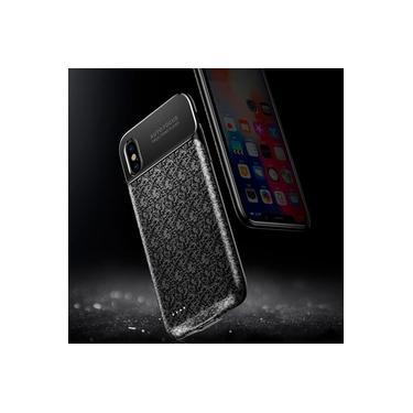 Capa Carregadora Baseus Plaid Para Iphone X (3500 Mah)