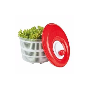 Seca Salada Secador Centrifuga 4,5 Litros Folhas e Verduras Prática Higiênica e Conserva Salada por Mais Tempo - 122078