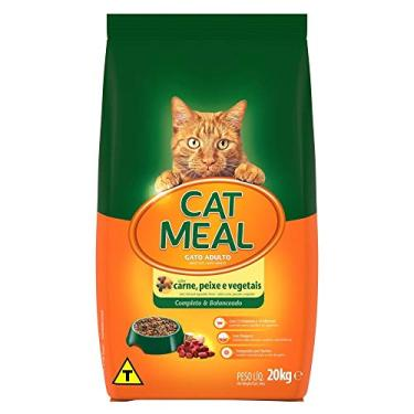 Cat Meal Sabor Carne, Peixe e Vegetais 20KG