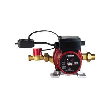 Pressurizador 20 mca Lorenzetti PL20 20MCA com 3 Níveis de Potência e Filtro Retentor de Partículas - 350W