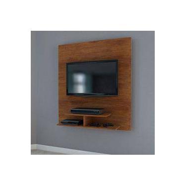 Painel para Tv até  40  Polegadas Jb 5019 Luxo Caramelo Madeirado - Móveis Jb Bechara