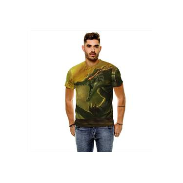 Camiseta League Of Legends Renekton Carniceiro Das Areias Masculina Slim