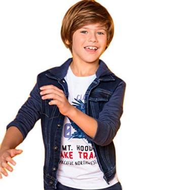 Jaqueta Jeans Infantil Hering Kids C31rjei6q