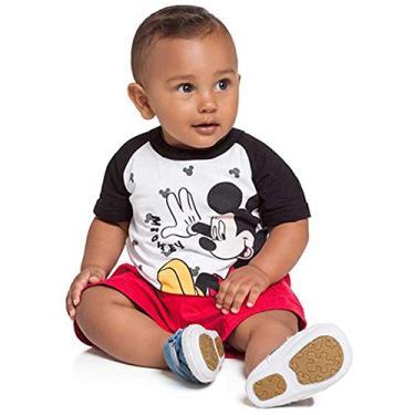 Camiseta Infantil Menino Brandili Mickey -p