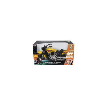 Imagem de Bs toys - Game Line - Moto Big Chopper - Amarelo