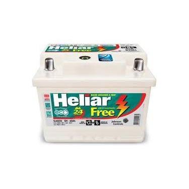 Bateria Heliar 60Ah Super Free - 02 Anos de Garantia (A base de troca) - Anúncio exclusivo para quem devolver a bateria velha