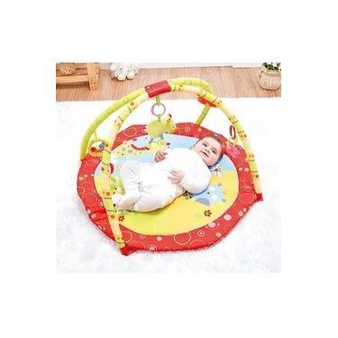 Imagem de Tapete Infantil P/ Atividades Redondo Animais Mastela (8650)
