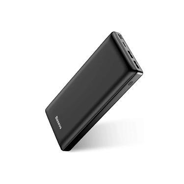 Carregador Power Bank 30000mAh USB Mais Tipo C Baseus Portatil Banco de Carga Rápida Móvel
