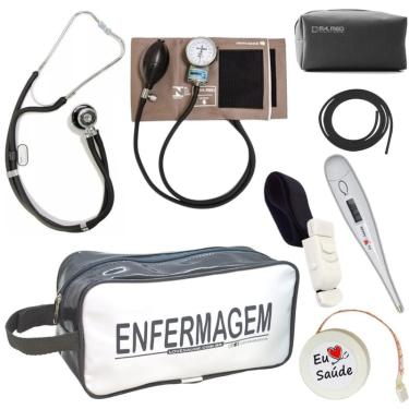 Kit De Enfermagem Completo - Grafite Premium
