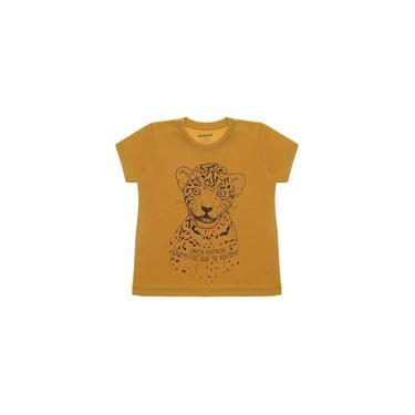 Blusa Infantil Menino Onça Caramelo Momma Baby - MB106-CR