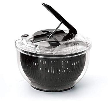 Centrífuga e Secadora de Saladas Fast Dry Transparente/Preto 5 Litros