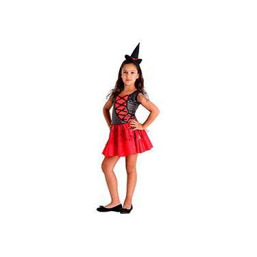 Imagem de Fantasia Infantil Bruxa Elegante - Sulamericana