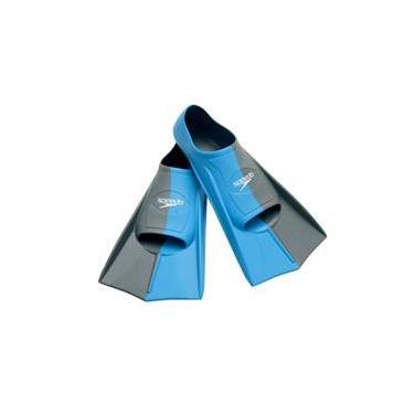 Nadadeira Dual Training Fin Speedo 36-37 Azul