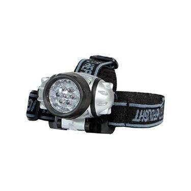 Lanterna Para Cabeça Com 7 Leds E Alça Elástica