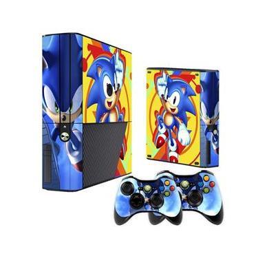 Skin Xbox 360 Super Slim Sonic
