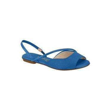 Sandalia Rasteira Conforto 8226.1075 Beira Rio (65 - Jeans