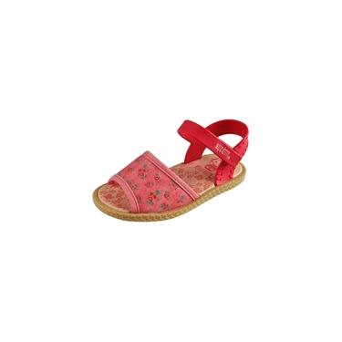 Sandália Baby Hello Kitty - Rosa, Pink e Bege