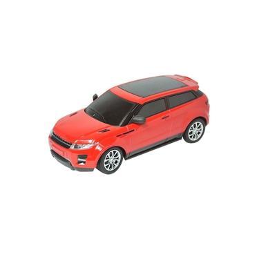 Carrinho De Controle Remoto Land Rover Vermelho 25cm Bateria Recarregável DMT5051 - DM Toys