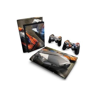 Skin Adesivo para PS3 Super Slim - Need For Speed Hot Pursuit