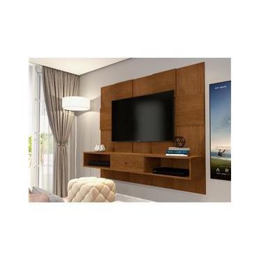 Painel Luxo JB 5025 para Tv até 55 polegadas Caramelo