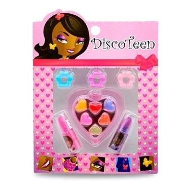 Imagem de Kit Maquiagem Infantil Coração Disco Teen Ref: HB86503F