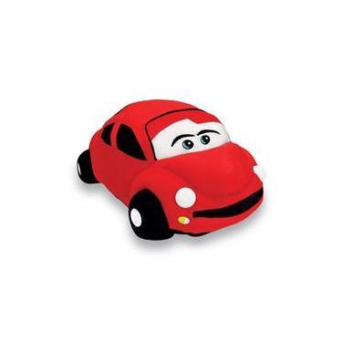 Imagem de Carro De Pelúcia Fusca Vermelho 85 Cm Antialérgica