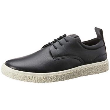 Sapato Casual, Reserva, Manford, Masculino, Preto/Branco, 41