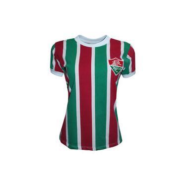 Camisa Liga Retrô Fluminense 80´s Feminino