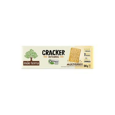 Biscoito Tribos Cracker Vegano Orgânico Mãe Terra 130g