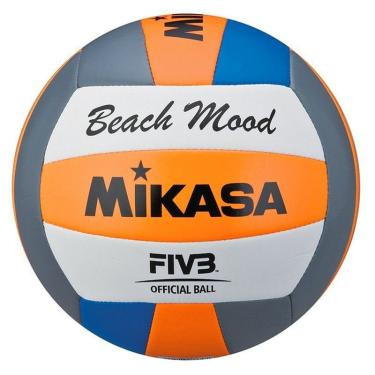Bola Vôlei De Praia Mikasa VXS-BMD Branca e Azul male d4d3d3239d94b