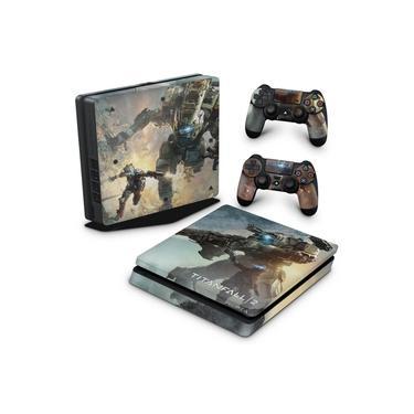 Skin Adesivo para PS4 Slim - Titanfall 2 #B