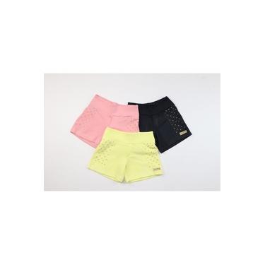 Shorts Infantil Malha Crepe