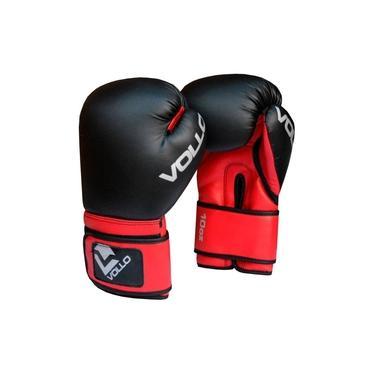 Luvas Boxe Muay Thai - Modelo Basic Vermelha - Vollo